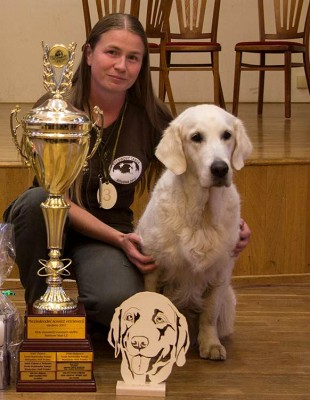 Wendy - Winner of International Retriever competition